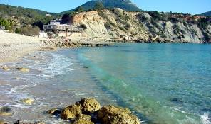 playa cala dhort reserva natural sant josep san jose ibiza eivissa