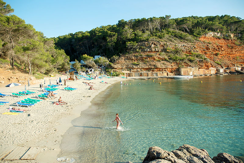 Cala Salada Ibiza Mapa.Cala Salada Ibiza 5 Sentidos