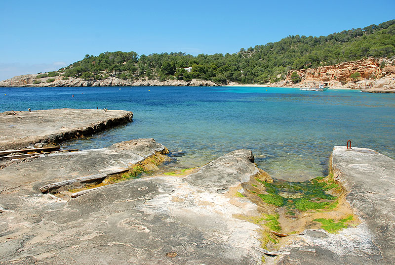 cala salada ibiza spain holidayspots4u. Black Bedroom Furniture Sets. Home Design Ideas