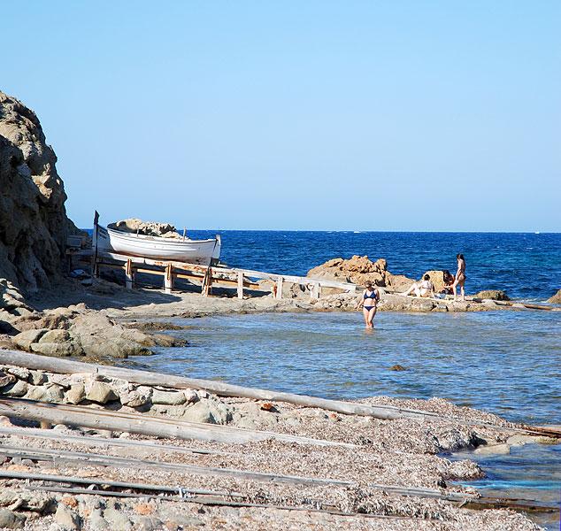 playa cala canal den marti pou des lleo sant carles san carlos ibiza eivissa