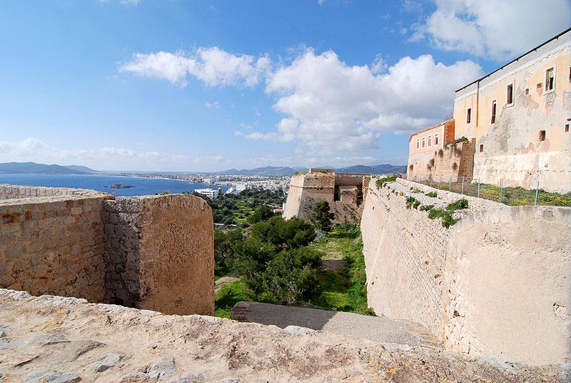 castillo de ibiza dalt vila eivissa patrimonio de la humanidad