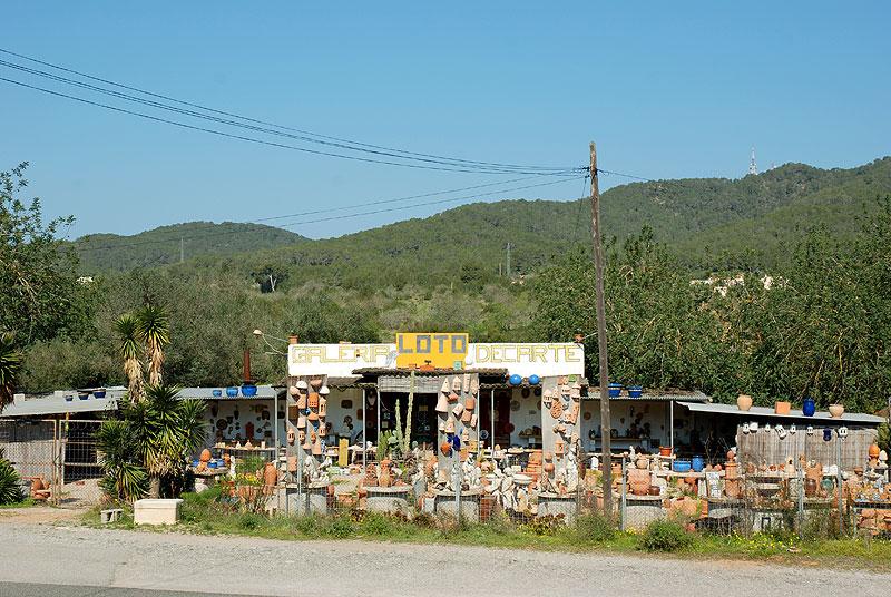 Carretera de la cerámica y la decoración - Ibiza 5 Sentidos