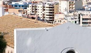 iglesia de lhospitalet dalt vila ibiza eivissa patrimonio de la humanidad
