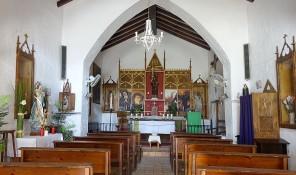 iglesia de sant francesc de sestany parque natural de ses salines ibiza eivissa