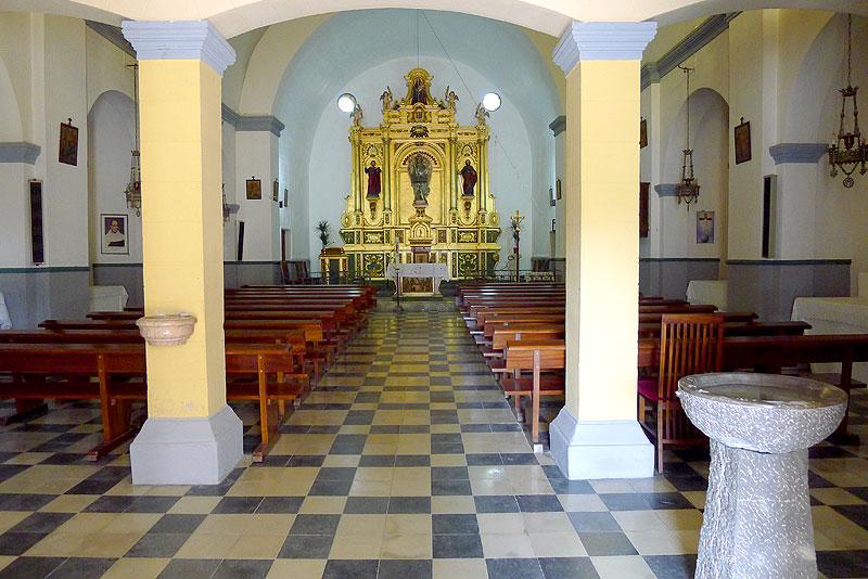 Iglesia de sant rafel ibiza 5 sentidos - Foto foto interior ...