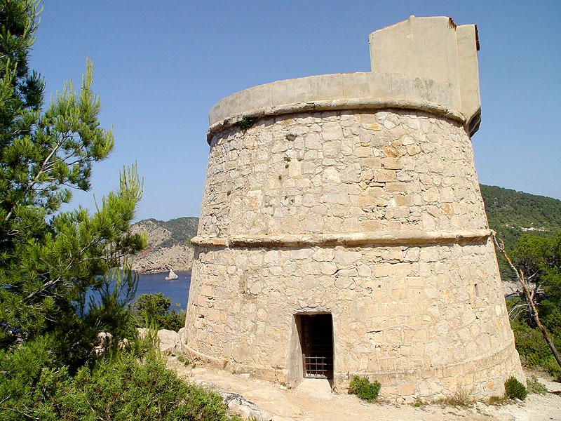 torre de balanzat o des molar port de sant miquel san miguel ibiza eivissa