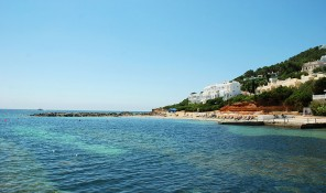 platja playa de santa eularia des riu eulalia del rio ibiza eivissa calo de salga