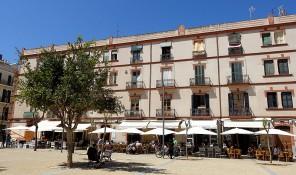 plaça del parc plaza parque ibiza eivissa