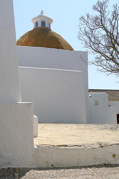 iglesia de santa eularia eulalia puig de missa ibiza eivissa