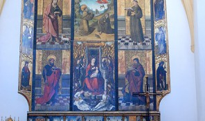 retablo gotico iglesia jesus ibiza eivissa
