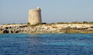torre de ses portes defensa parque natural de ses salines sant josep san jose ibiza eivissa